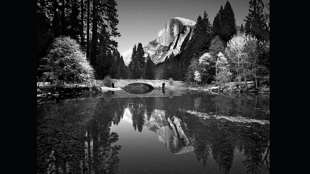 عکس انسل آدامز عکاس امریکایی