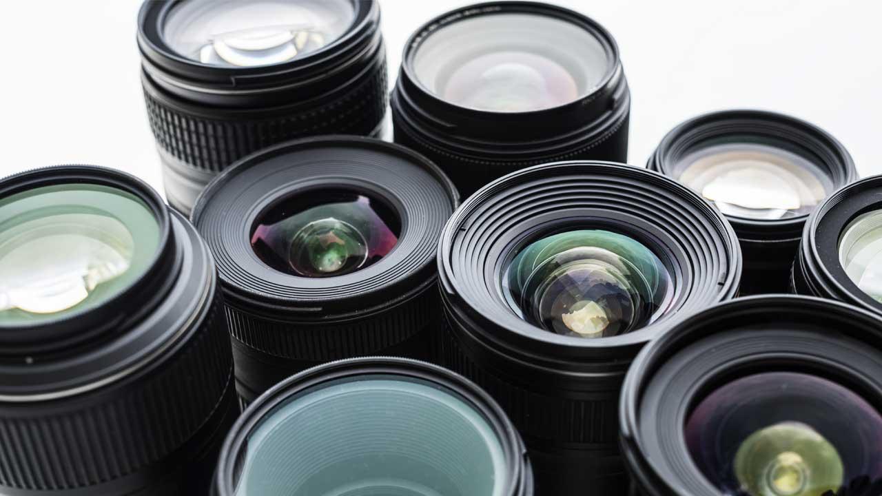 عکس لنز دوربین عکاسی