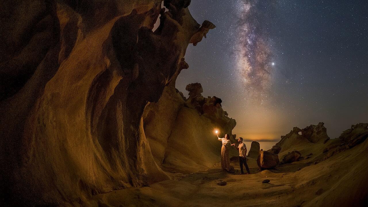 عکس مربوط به ساختن تصویر از مقاله نکات کلیدی عکاسی با نوردهی طولانی که باید بدانید