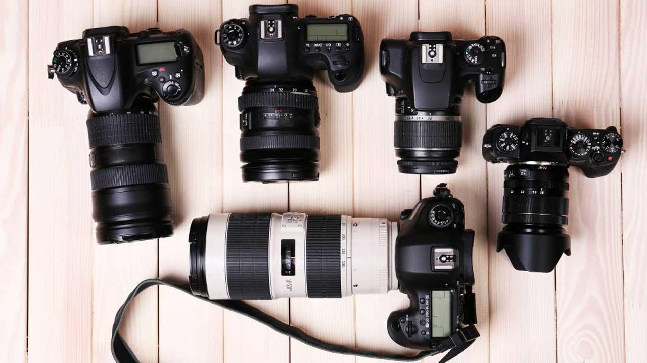 عکس انواع مدل دوربین مربوط به مقاله دوربین عکاسی منظره در شب