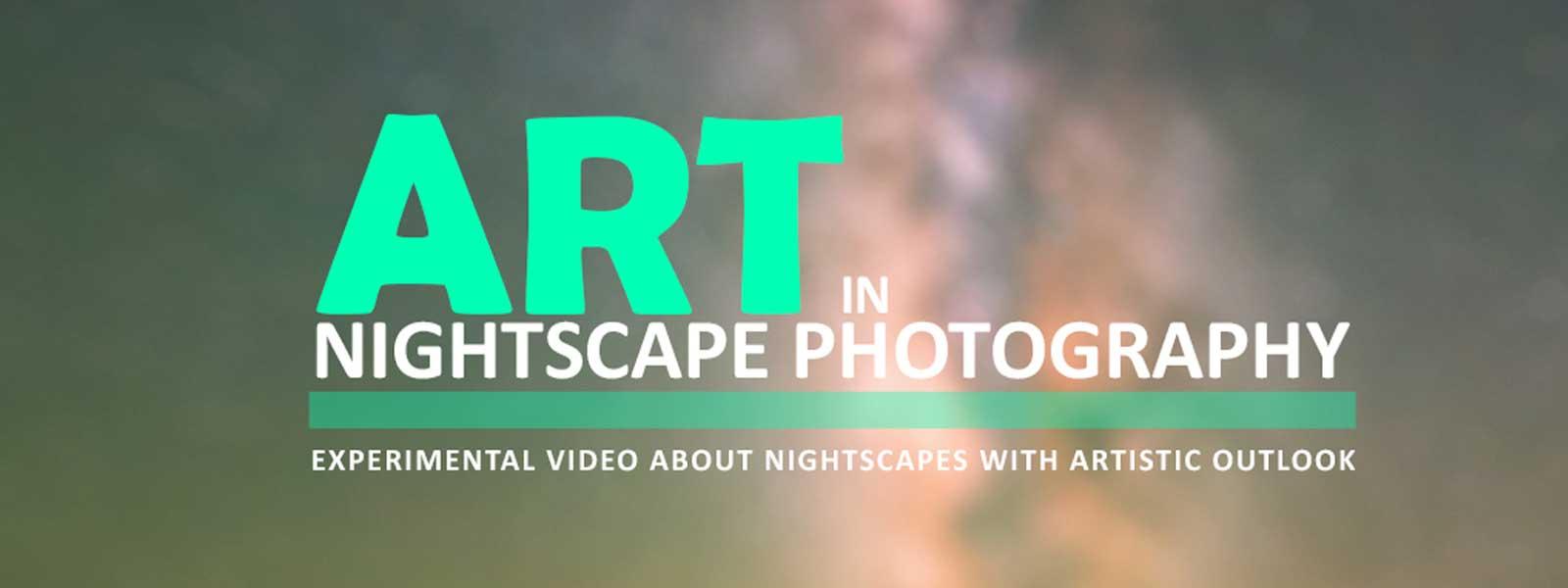 عکس بنر مقاله ویدیویی هنر در عکاسی منظره در شب